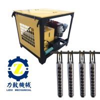 开山采石设备爆破机结构原理及用途 劈裂棒 液压开山机